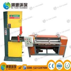 La chatarra de Corte y separación del radiador de aluminio Máquina/radiador de cobre de la máquina Seprating
