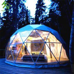 贅沢な屋外グループの円形のキャンバスのキャンプテント