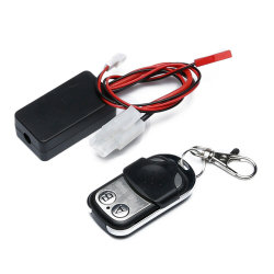 1/10 Controlador Sem Fios do Guincho Receptor remoto definido para RC carros do trator de esteiras