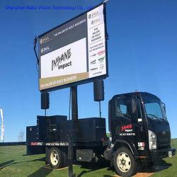 LED étanche6.67mm P Chariot de panneaux mobiles enseigne publicitaire