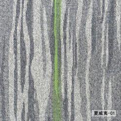 Shaggy el piso de mosaico de la fábrica de alfombras PVC liso alfombra alfombra Living Oficina Hotel mosaico Mosaico de Alfombras alfombras de polipropileno Tufted