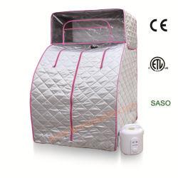 Sauna bagnata calda portatile per l'ente completo con il generatore di vapore 2.0L come strumento di pulizia della pelle