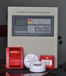 Sistema di segnalatore d'incendio di incendio facile da usare indirizzabile di industria del pannello di controllo del segnalatore d'incendio di incendio dell'evacuamento