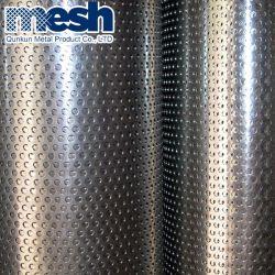 Revestimento a pó perfuradas de cobre de perfuração Grill malha de metal da grade da tela Preço de folhas