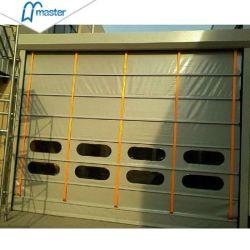 El apilamiento de rodillo rápida Industrial las puertas de PVC