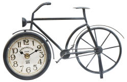 Американский стиль утюг велосипед часы