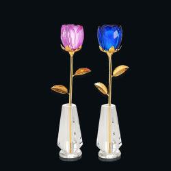 Glas van het kristal nam de Decoratie toe van de Lijst van het Huwelijk van de Bloem (jd-cf.-100)