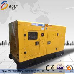 Neuer Zylinder-ruhiger Typ Dieselgenerator der Dringlichkeits30kva schwanzloser 1500/1800 R/Min Kraftstoff-Angeschaltener des standby-4 mit elektrischem Anfang