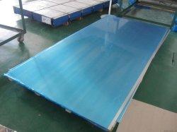 파란 PVC 필름으로 (1060 1xxx 8011 8xxx 3003 3xxx 5052) 포장하는 실내 장식을%s 알루미늄 알루미늄 장