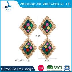 가격 대비 낙하를 제공하는 새로운 사우디 골드 즈카 귀걸이 디자인 귀걸이 (05)