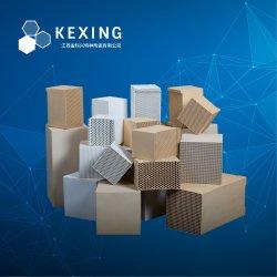 L'alumine dense et dense de la cordiérite Honeycomb monolithe de céramique, échangeur de chaleur, régénérateur, substrat de la RTO, RCO