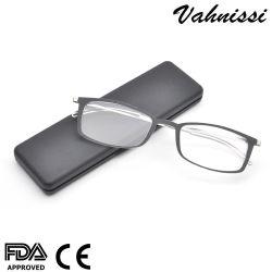2019 heiße Verkaufs-neueste Entwurfs-Metallbügel-super dünne Optikanzeigen-Gläser