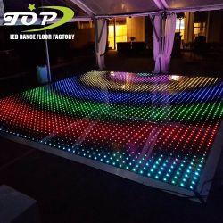 신제품 LED 영상 결혼식 임대 두바이가 최고 조명한 LED 화소 댄스 플로워 디스코에 의하여 점화한다