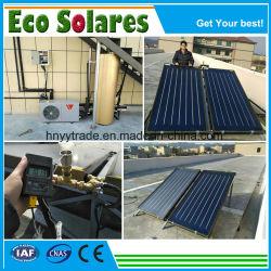 De zwarte ZonneCollector van de Vlakke plaat van de Deklaag van het Chroom/de ZonneVerwarmer van het Water voor Heet Water die Project leveren