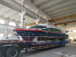 Grandsea 16m 40 Personen-Aluminium-/Aluminiumhochgeschwindigkeitspassagier-Boot für Verkauf