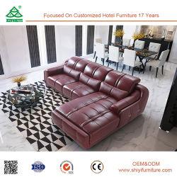 Современной деревянной мебели диван и кожаный диван мебель подушки, ткани диван снимков