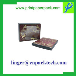 Romántico de alta calidad Heart-Shape personalizadas de flores de papel a favor de caja de regalo