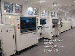 Conjunto do SMT equipamentos de produção de PCB tecla Semi-Auto Linha SMD da Máquina