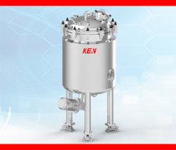 Elektrische Heizungs-mischendes Becken 200L SS-304/316L, das Quirl verschrottet