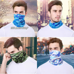 Masque de plein air estivales Hommes Femmes Bib face towel manchons Circonscription de vélo de montagne masque Masque Magic foulard bandeau