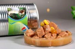 Gemüse 375g mit dem Rindfleisch en gros in Büchsen konserviert für Hundenahrung- für Haustierehundenahrungsmittelgroßverkauf-Hundeimbisse