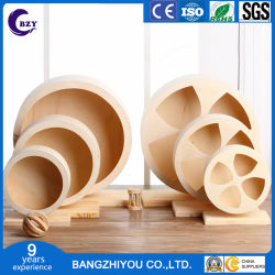 Rodillo de silencioso de madera de alta calidad de la rueda de hámster