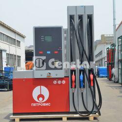Alta calidad y la venta caliente Censtar inteligente mecánicas y eléctricas dispensador de combustible de multimedios