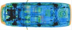 À l'2800 voiture X Ray Inspction le système X-ray petit camion Scanner