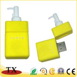 USBのフラッシュが付いている創造的なびんの形USB