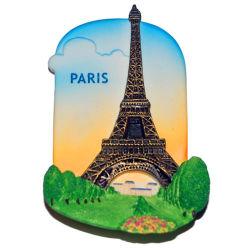 Articles promotionnels personnalisés Mode 3D touristique en PVC souple Fridge Magnet en caoutchouc de la promotion de l'impression de carte d'affaires autocollant magnétique Fridge Magnet pour cadeau souvenir