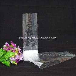 O OPP saco de polietileno transparente Grau Alimentício Polybags com fundo plano