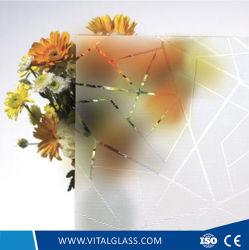 Acide miroir gravé - Ultra clair Plaque épaisse