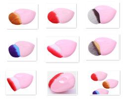 Фонд Heart-Shaped щетки мини-Size - косметические щетки 8 Стили