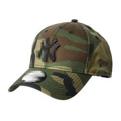 Promocionais personalizadas Adulto Tampas Visor 3D Bordados Sport Golf Hat 6 Painéis Algodão