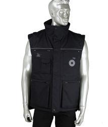 Workwear multi Bodywarmer riempito esterno impermeabile Pocket di Oxford del poliestere di modo