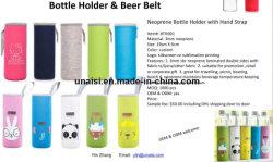 La bière en néoprène transporteur titulaire Sac Housse bouteille d'eau le manchon