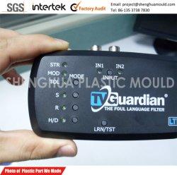電子デバイスのプラスチック機構および明確なパソコンライト表示器の注入