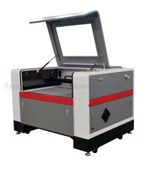 Cortador de grabador láser CNC FLC9060 para madera tejido acrílico de CO2 de 100W