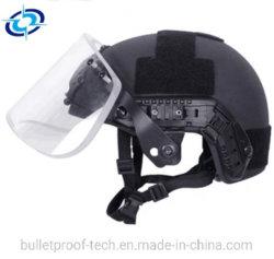 Баллистических Visor пуленепробиваемых маску для военных и противопожарная защита быстро шлем маска Stage IIIA уровня