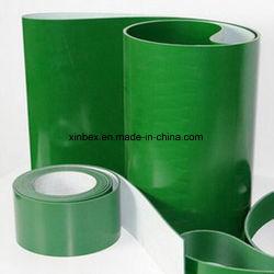 2mm Verde Ply Flat Correias transportadoras de PVC para Pacote/Eletrônicos/Distribuidor de fábrica