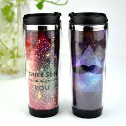 Vente à chaud en acier inoxydable promotionnel Drinkware tasse de café Starbucks Mug 420ml Tasse de voyage à double paroi tasse à café