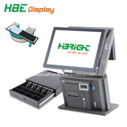 precio de fábrica de 15 pulgadas de pantalla táctil de facturación POS ordenador la máquina para cajero