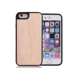 携帯電話アクセサリ、 iPhone 7 用の iPhone プラスチック原材料用のリアルウッドフォンケース
