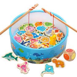 2020 оптовых продаж магнитной промысел игры детские деревянные головоломки игрушки 20ПК в течение 3 лет дети