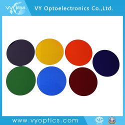 Los filtros de vidrio coloreado óptica para el equipo de terapia médica