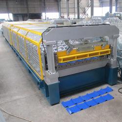 20 anos de experiência no arco de cores antigo telha de aço máquina de formação de rolos de aço automática de instrumentos de controlo CNC formando Mill preço de fábrica da capota