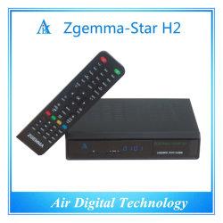 Satellite d'origine&Décodeur TV terrestre DVB S DVB T2 Zgemma Star H2
