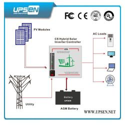 Off-Grid Solar Power Inverter mit LCD & LED-Bildschirm für Option