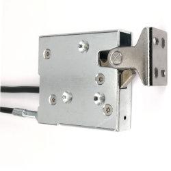 Verrou d'armoire électrique de haute sécurité avec intervention prioritaire mécanique