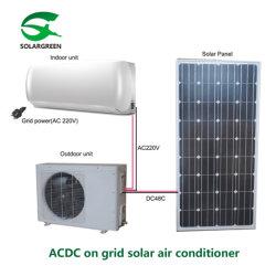 Hogar Acdc tipo Split Pared acondicionador de aire Solar